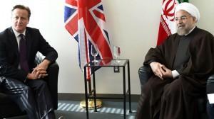 Συνομιλία Πρωθυπουργού Ηνωμένου Βασιλείου με Ιρανό Πρόεδρο