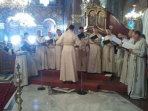 Συναυλία της χορωδίας του Αγίου Δανιήλ του Πατριαρχείου Μόσχας στην Αθήνα