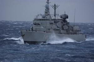 Διαρκή παρουσία στην Αν Μεσόγειο αποκτά η Ελλάδα με την αποστολή μίας φρεγάτας και ενός υποβρυχίου