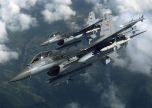 Διπλή, σκληρή, αερομαχία ελληνικών με τουρκικά F-16