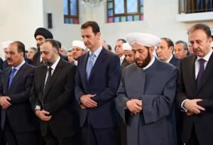 Νέα δημόσιο εμφάνιση του Άσαντ