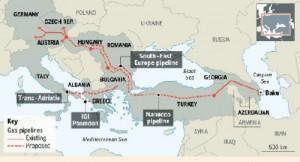 Ανατέθηκαν τα συμβόλαια για τον αγωγό ΤΑΡ σε Ελλάδα και Αλβανία
