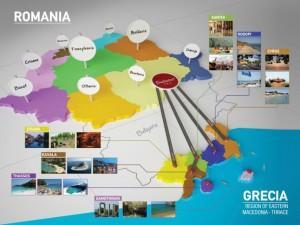 «So near to you … the Aegean Blue»  το κεντρικό μήνυμα της ΠΑΜ-Θ στο Βουκουρέστι