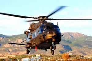 Προσγειώθηκε στα Μέγαρα το 11ο ελικόπτερο ΝΗ-90 TGRA της Αεροπορίας Στρατού