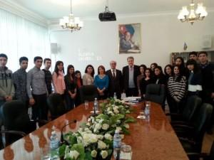 Ολοκληρώθηκε η επίσκεψη του Νότη Μαριά στο Αζερμπαϊτζάν