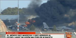 Συγκλονίζει την Ευρώπη το δυστύχημα του ελληνικού F-16D στο Albacete