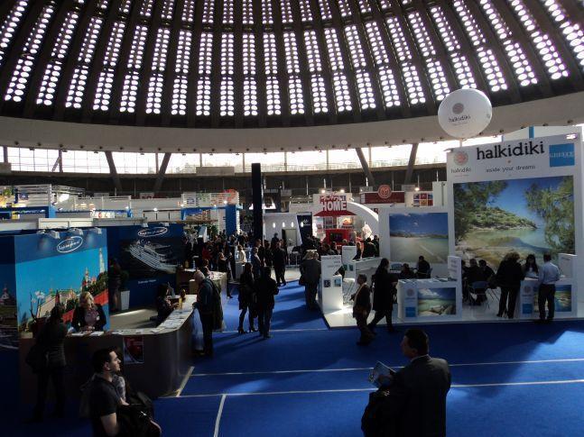 Ο εληνικός τουρισμός προβάλλονταν σε ολη τη διεθνή εκθεση