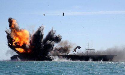 Προσομοίωση επίθεσης σε αμερικανικό αεροπλανοφόρο πραγματοποίησε το Ιράν (Vid.)