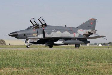 Τέσσερις Τούρκοι πιλότοι νεκροί μετά από εναέρια σύγκρουση δύο αεροσκαφών RF-4ETM Isik