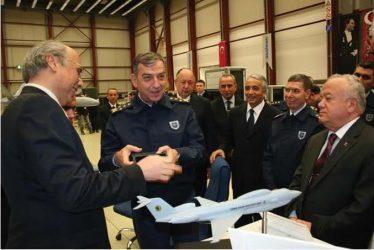 Σε φάση υλοποίηση το τουρκικό πρόγραμμα αερομεταφερόμενου παρεμβολέα μεγάλης ισχύος Golge