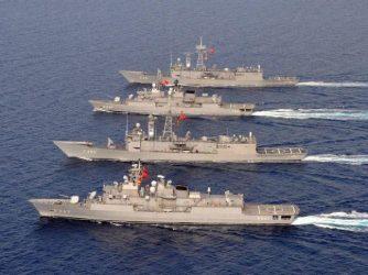 Δεκάμηνη τριχοτόμηση του Αιγαίου με τρεις NAVTEX και μία NOTAM επιδιώκει η Τουρκία
