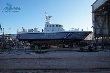 Καθελκύστηκε το δεύτερο περιπολικό σκάφος τύπου POB- 24G του ΛΣ/Ελληνικής Ακτοφυλακής (Vid.)