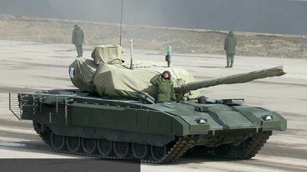 Η πρώτη επίσημη φωτογραφία του ρωσικού άρματος T-14 Armata