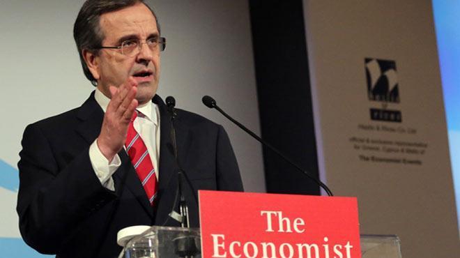 Σαμαράς-Economist