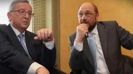 Σουλτς: Θα κάνουμε εκστρατεία με Γιούνκερ υπέρ του «ναι» – Ο Τσίπρας ποτέ δεν ήθελε τη συμφωνία