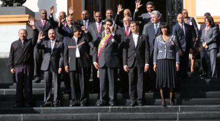 Στήριξη της Ελλάδας από την  Μπολιβαριανή Συμμαχία για τους Λαούς της Αμερικής