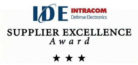 4o Συνεχόμενο Βραβείο Διεθνούς Αναγνώρισης στην IDE από τη RAYTHEON