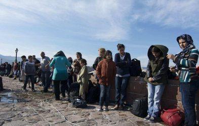 Διαφυλετικές συγκρούσεις παράνομων μεταναστών στην Λέσβο με 10 τραυματίες