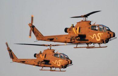 Μυστική μεταβίβαση 16 επιθετικών ελικοπτέρων AH-1E/F Cobra από το Ισραήλ στην Ιορδανία το 2014