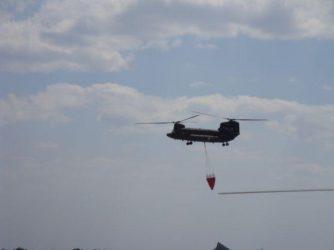 Σημαντική η συνεισφορά του Στρατού Ξηράς στην κατάσβεση των πυρκαγιών της Αττικής