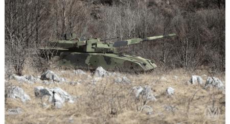 Αυτό είναι το πρωτοποριακό άρμα μάχης М-20UP-1 που αναπτύσσει η Σερβία