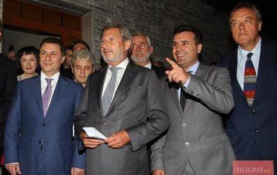 """Και μετά την """"διακομματική συμφωνία"""" ο Γκρουέφσκι παραμένει κυρίαρχος στην ΠΓΔΜ – Πρόωρες εκλογες το 2016"""