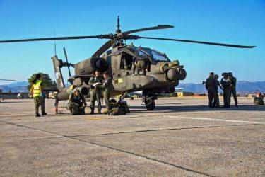 Δεκαήμερη συνεκπαίδευση της 1ης ΤΑΞΑΣ με την Αεροπορία του Ισραήλ στην περιοχή της Λάρισας