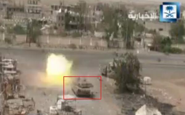 UAE+Leclerc+Main+Battle+Tanks+in+Yemen+engaging+Houthi+rebels+1