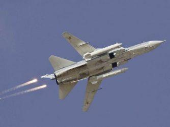 20 αποστολές βομβαρδισμού πραγματοποίησαν σήμερα τα ρωσικά αεροσκάφη στη Συρία