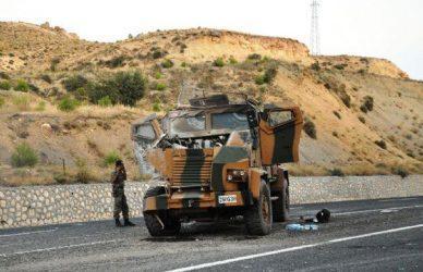 17 Τούρκοι αστυνομικοί και στρατιωτικοί νεκροί μέσα σε μια εβδομάδα