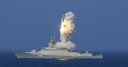"""Επίθεση με 26 πυραύλους cruise  3M-14T """"Kalibr"""" εξαπέλυσε η Ρωσία κατα στόχων στην Συρία (Video)"""