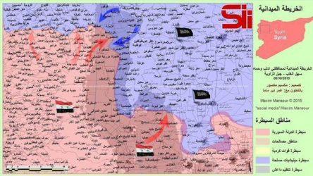 Δύο μεγάλης κλίμακας επιθέσεις στον τομέα της Hama εξαπόλυσε ο Στρατός της Συρίας
