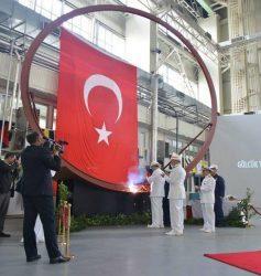Με τριετή καθυστέρηση ξεκίνησε η ναυπήγηση του πρώτου τουρκικού υποβρυχίου Type-214TN – Θα παραδοθεί το 2021