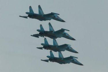 Στα 20 μίλια πλησίασαν τα ρωσικά Su-34 τα αμερικανικά F-16 πάνω από τη Συρία