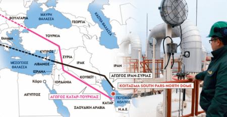 """Συρία """"το καζάνι της φωτιάς"""" – Η μάχη των δύο αγωγών φυσικού αερίου"""