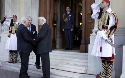 Πρ. Παυλόπουλος: Η Μ. Ανατολή δεν θα βρει την ειρήνη αν δεν λυθεί το Παλαιστινιακό