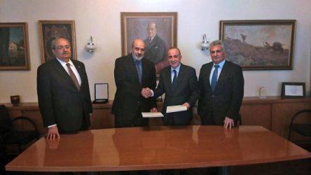 Υπογραφή Συμφωνητικού Στρατηγικής Συνεργασίας μεταξύ των ΕΑΣ και της IDE – INTRACOM Defense Electronics