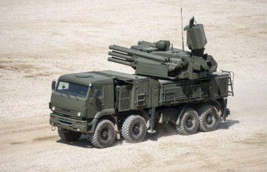 24 αυτοκινούμενα αντιαεροπορικά συστήματα Pantsir-S1 παρέδωσε η Ρωσία στο Ιράκ