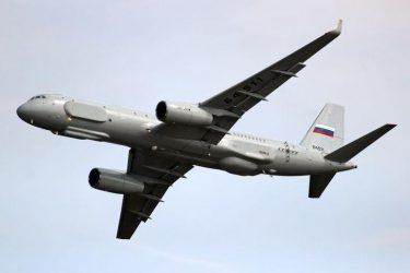 Αεροσκάφος συλλογής πληροφοριών και εντοπισμού χερσαίων στόχων τύπου Tu-214R έστειλαν οι Ρώσοι στη Συρία