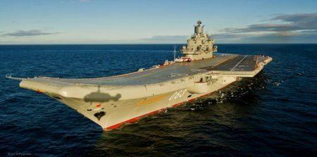 Το αεροπλανοφόρο Αdmiral Kuznetsov με 12 Su-33 Flanker D στέλνει η Ρωσία στη Συρία