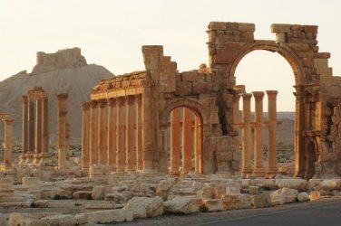 Σφοδρή επίθεση του συριακού στρατού στην Παλμύρα