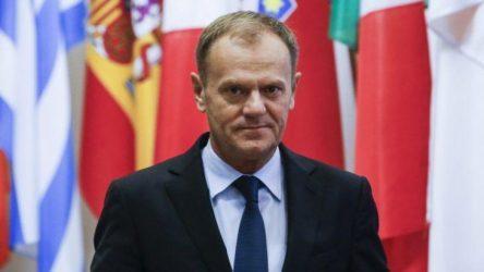 """Τουσκ: """"Κοινή απόφαση των 28 το κλείσιμο του Βαλκανικού διαδρόμου"""" – Τι έγινε, τελικά, στην Σύνοδο;"""