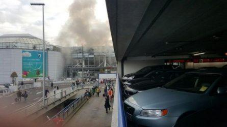 Δύο εκρήξεις με νεκρούς και τραυματίες στο αεροδρόμιο Βρυξελλών