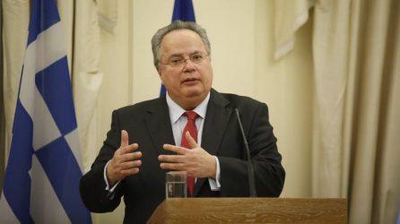Κοινές δηλώσεις Ν. Κοτζιά, και Υπουργού Εξωτερικών της Αλβανίας, D. Bushati