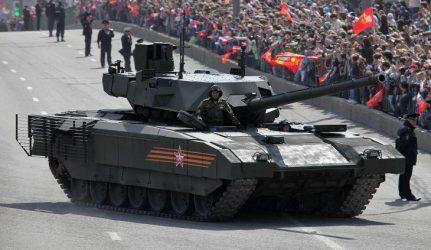 """Εκατό άρματα μάχης T-14 """"Armata"""" παρήγγειλε ο Ρωσικός Στρατός"""