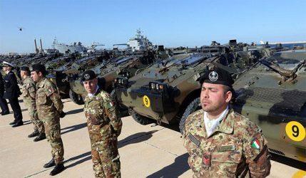 Η Ιταλία δεν σχεδιάζει να στείλει στρατεύματα στη Λιβύη