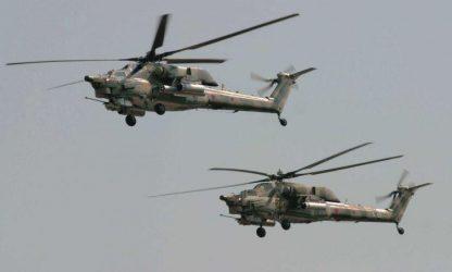 Πτώση Ρωσικού ελικοπτέρου Mi-28N στη Συρία – Σκοτώθηκαν και οι δύο πιλότοι (Video)