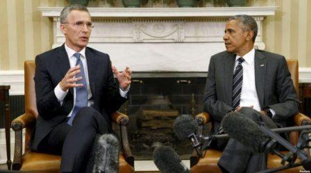 Συνάντηση Ομπάμα-Στόλτενμπεργκ με θέμα τη δράση ενάντια στους τζιχαντιστές