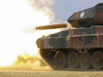 Ολοκληρώθηκε η παραλαβή 12.000 πυρομαχικών DM12A2 και DM63/DM63Α1 των 120 χλστ για τα Leopard-2HΕL/2A4