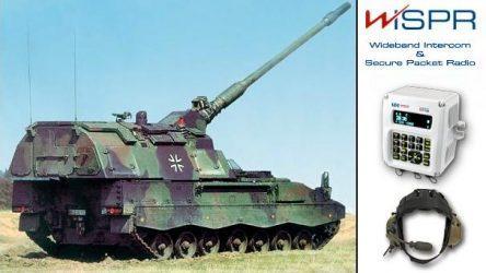 Το WiSPR της INTRACOM Defense Electronics αναβαθμίζει τις επικοινωνίες των Γερμανικών αυτοκινούμενων πυροβόλων PzH2000